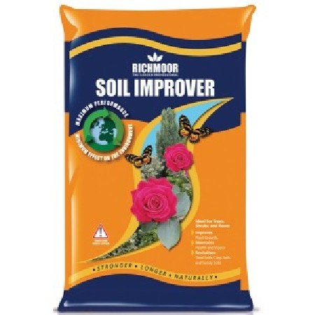 Products page for this green and son ltd website for Soil improver