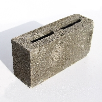 140mm Concrete Hollow Walling Block available from Green & Son