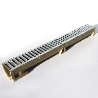 Galvanized Top Linear Drainage Channel available from Green & Son