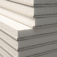 Thermal laminate Polystyrene Backed Plaster Board