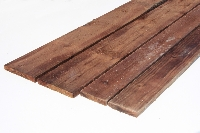 Square Edge Brown Treated Fencing Boards