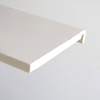 White PVC single leg mamouth board available from Green & Son