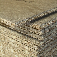 Tounge and groove chipboard flooring