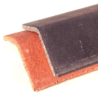 Angled Concrete Ridge Tile
