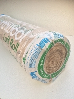 Loft Insulation Fibre Wool Roll