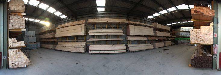 Extensive stock of timber, joinery and sheet materials available at green and son
