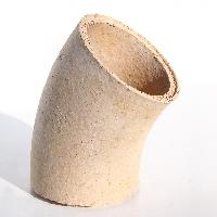 185mm clay flueliner 37.5 deg bend