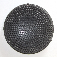 320mm Circular Concrete Cover and Frame available from Green & Son
