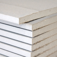 At Green & Son we stock a range of plasterboard to suit most requirements