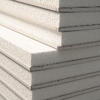 Thermal laminate Polystyrene Backed Plaster Board