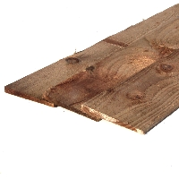 Feather Edge Brown Treated Fencing Boards