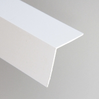 White PVC 90Deg Angle available from Green & Son