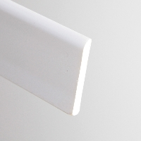 White PVC Trim available from Green & Son