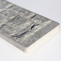 Concrete Stone/Rock Faced Gravel Board