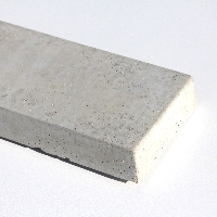 Small Concrete Smooth Faced Gravel Board