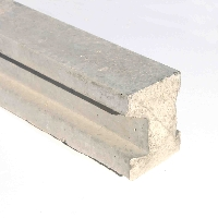 Concrete Slotted Fence Post