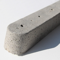 Concreted Universal Fence Post
