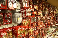 At Green & Son a broad range of hardware items in stock