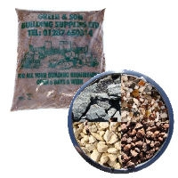 At Green & Son we carry a large stock of aggregate products