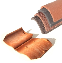 concrete and clay roof tiles, pan tiles and ridge tiles always in stock