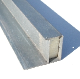 Galvanised Insulated 200mm Box Gargae Door Lintel
